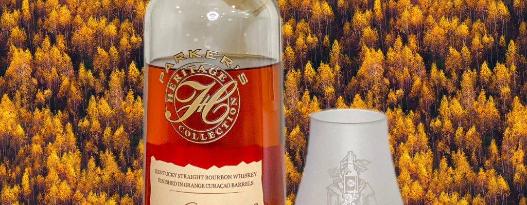 Parker's Heritage Bourbon finished in orange curacao barrels