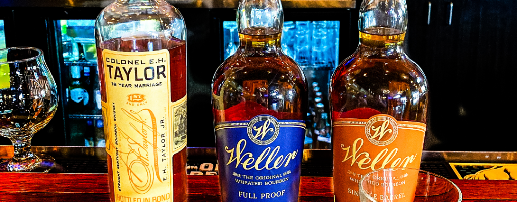 Taylor 18 year old marriage - weller full proof - weller single barrel - review