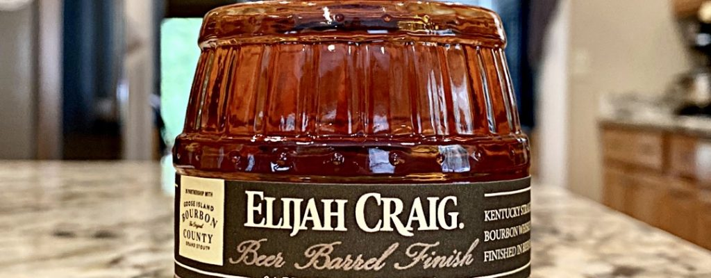 Elijah Craig Beer Barrel Finish Bourbon