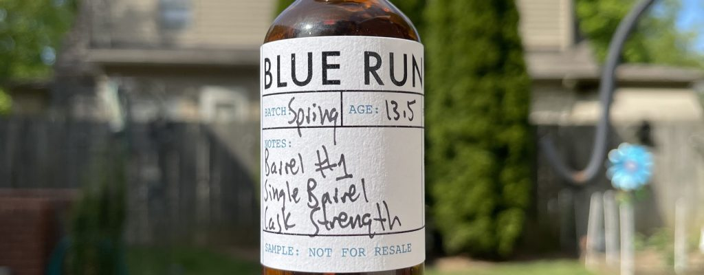 Blue Run 13.5 yr Single Barrel Bourbon