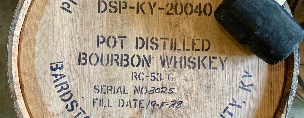Preservation Distillery Barrelhead