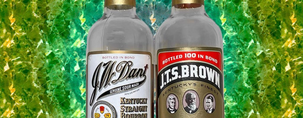 J.T.S Brown & J.W. Dant Bottled in Bond Bourbons