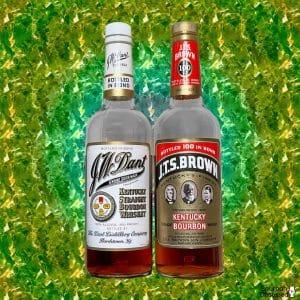 J.T.S Brown & J.W. Dant Bottled in Bond Bourbons