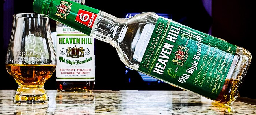 Heaven Hill 6 Year Old Bourbon - Green Label