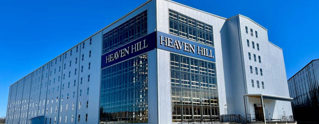 Heaven Hill Distillery New Rickhouse