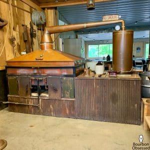 "Square or ""Coffin"" Still at the Casey Jones Distillery"
