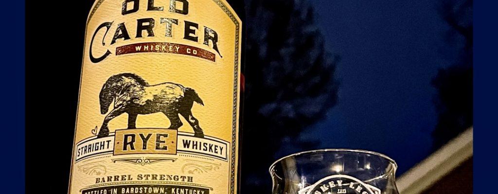 Old Carter Rye Whiskey Batch #5